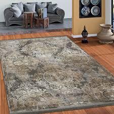 design teppich klassische ornamente teppich teppich beige