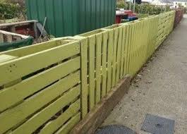 Exquisite Ideas Wood Pallet Fence How To Build A For Almost 0 And 6