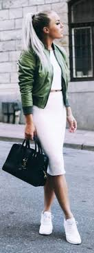 Winter Outfits With Pencil Skirts Elegant 40 Cute Sneakers 2018 Fashiondioxide