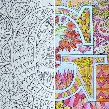 This Season Give The Gift Of Creativity And Relaxation Color Away Your Stress One Letter At A Time With An Adult Coloring Book ABC Me Is Available