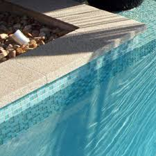 glass mosaic tiles for swimming pools waterline tiles and feature