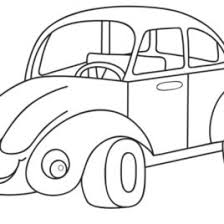 Cartoon Car Coloring Pages For KidsFree Kids