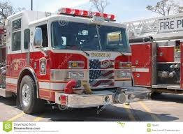 Fire Engines - Patriotic Grill Stock Image - Image Of Ladder, Rescue ...