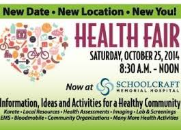 Schoolcraft Health Fair Ad For Website 335x240