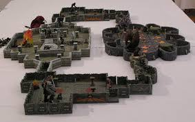 3d Dungeon Tiles Dwarven Forge by Miniatures For Roleplaying Tabletop Terrain Battlemats