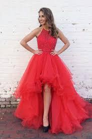 best 20 red high low dress ideas on pinterest navy blue prom