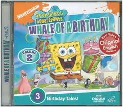Spongebob Halloween Dvd Episodes by Whale Of A Birthday Dvd Encyclopedia Spongebobia Fandom