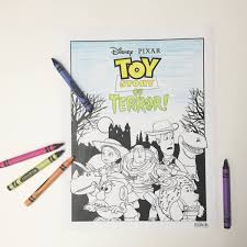 Toy Story of Terror Coloring Page COSITAS RICAS Coloring pages
