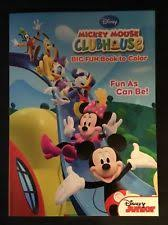Disney Junior Mickey Mouse Clubhouse Big Fun Book To Color As Can Be