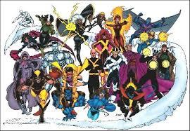 X Men Lineups 80s