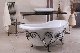freistehende luxus badewanne jugendstil mediterran weiß schmiedeeisen 1690mm antik stil badezimmer retro antik badewanne