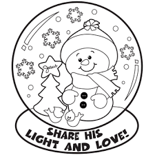 Christmas Coloring Pages Images Of Photo Albums Free Printable