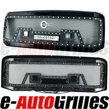 05-07 Ford Super Duty Rivet Black SS Wire Mesh Grille Grill W/Shell ... 2015 Ford Fseries Super Duty First Look Automobile Magazine 15 Offroad Parts 2017 Toyota Trd Pro Used Truck Best Resource F250 Oem Accsories Waldorf 2018 Ford Oem Of New F 350 Srw Rio Grande Calmont Leasing Ltd Heavy Trucks Medium Duty Light Dodge Just Added Kelderman Alpha Series Grille For The Guys And Tractor 2003 Sacramento Subway Lego F150 Set Needs Votes To Make It Production Welcome Collis Inc Reportedly Delayed Due Shortage