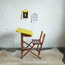 bureau pliable bureau enfant pliant vintage atelier du petit parc