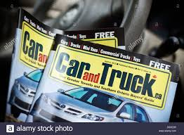 100 Free Cars And Trucks Car And Truck Booklets Brochures Ontario Canada Stock Photo