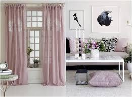 romantisch wohnen vorhänge und kissenbezüge in rosa