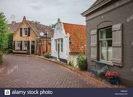 100 Small And Elegant Charming And Quiet Street With Brick Rustic Houses And