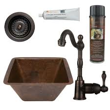 Install Sink Strainer With Silicone by Sinkology Seurat Drop In Handmade Pure Solid Copper 15 In 1 Hole