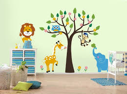 BedroomLovely Children Room Painting Ideas And Cute Jungle Theme Kids Rooms Paint With