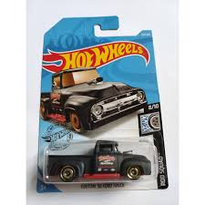 100 56 Ford Truck Hot Wheels ROD SQUAD CUSTOM FORD TRUCK 52409
