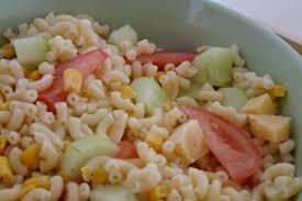 recette de salade de pâtes froides aux crudités la recette facile