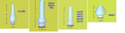 Oil Lamp Chimney Glass Replacement by Den Haan Oil Lamp Chimneys Oil Lamp Parts Interior Lighting