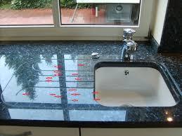 die granitarbeitsplatte in der küche moebelschlau