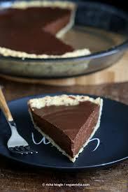 Healthy Chocolate Pumpkin Desserts by Vegan Chocolate Pumpkin Pie With Almond Crust Vegan Richa