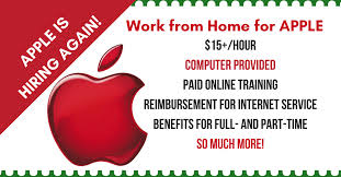 Apple is Hiring AGAIN Make $15 hr Working from Home puter