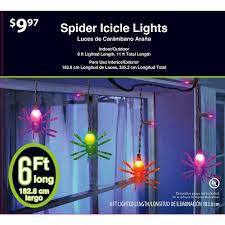 Preschool Halloween Spider Books by 6 Ft 35 Count Dangling Spider Halloween Lights Walmart Com