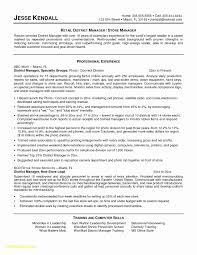 Restaurant Manager Resume Objective Skills For Managers Best Fresh Grapher Sample