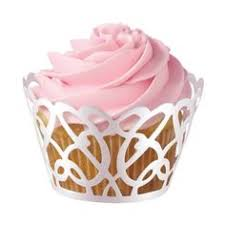 Wilton Pearl Swirl Cupcake Wraps Fun Wrap Around Accents Dimensions Diameter Fits Standard Sized Cupcakes Pack Of 18 Colour Pattern
