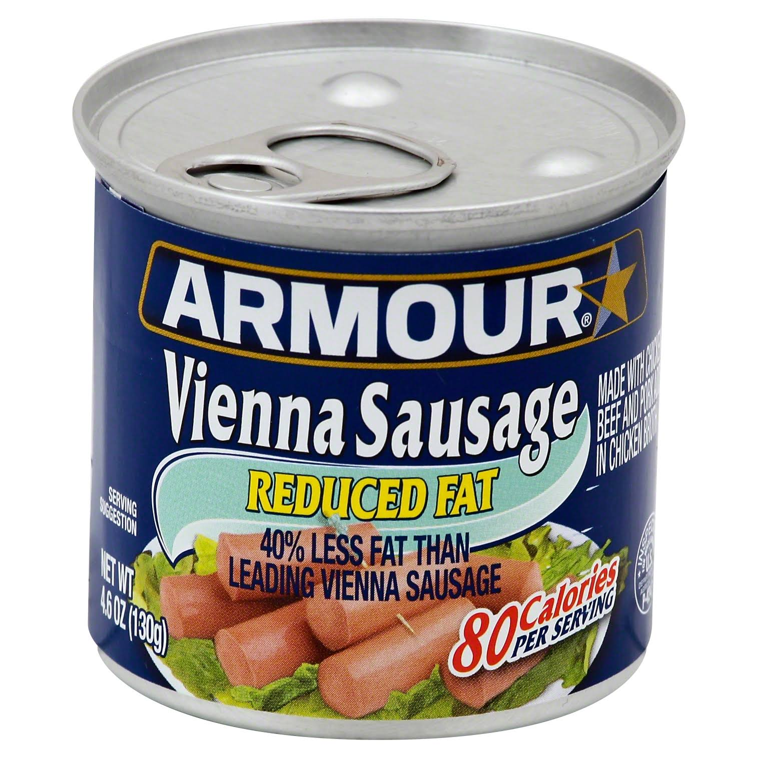 Armour Reduced Fat Vienna Sausage - 130g