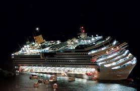 Minecraft Titanic Sinking Map by The Costa Concordia Sinking Inside The Epic Fight For Survival