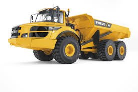 Articulated Dump Truck / Rubber-tired / Diesel / For Construction ...