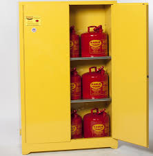 Fireproof Storage Cabinet For Chemicals by Eagle Flammable Liquid Safety Storage Cabinet 45 Gal Yellow