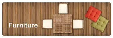 Garden Furniture Top View Png 1 PNG Image