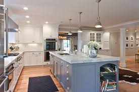 Newark Coastal Kitchen Decor With Transitional Range Hoods And Vents Traditional Countertops