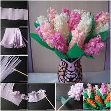 Flower Crepe Paper Diy