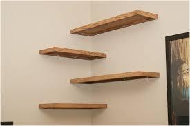 small decorative wooden shelf brackets diy wood floating corner