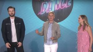 WATCH Chris Evans Moonwalks In A Dance Off With Elizabeth Olsen