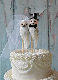 Owls Wedding Cake Topper Barn Rustic OWLS Snow