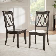 Shop Eleanor Double X Back Wood Dining Chair (Set Of 2) By INSPIRE Q ... Solid Wood Ding Table Fniture And Custom Upholstery By Kincaid Nc Stanley Modern Contemporary Chairs Room Blu Dot 26 Sets Big Small With Bench Seating 2019 Ideas 14 For Your Tables For Spaces Advice Board Before You Buy A Chair The Nook Casual Kitchen Ding Solution From Amazoncom Kitchen Set Of 2 Fabric Upholstered Richmond Handcrafted Rustic 10 Piece Daluwa