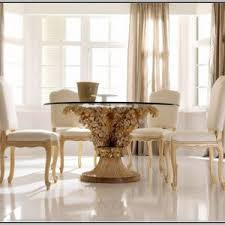 Ortanique Dining Room Furniture by Ortanique Round Glass Dining Room Set Dining Room Home