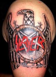 Slayer Tattoos Slayer Slayer Metal Tattoos