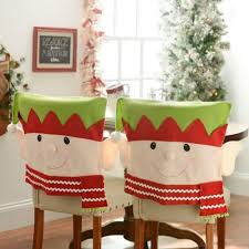 Kirklands Dining Chair Cushions by Elf Chair Covers Set Of 2 Chair Covers Elves And Xmas