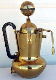 Vintage Brass Espresso Cappuccino Coffee Machine