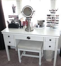 Makeup Desk Storage Makeup Vanity Set With Drawers Medium Size
