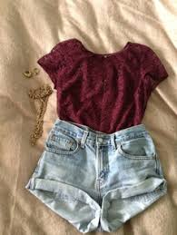 Spring Summer Cute Outfits Tumblr Shorts