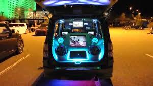 Scion xb Custom Interior and exterior LED RGB Lighting head light
